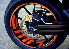 Aufkleber Felgenaufkleber Supermoto Felgen KTM SMR 990 SM RC8 SD 950 Superduke