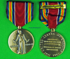 WWII Victory Medal - Full size made in the USA - World War Two - USM080 WWIIVM