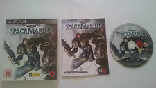 WARHAMMER SPACE MARINE SPACEMARINE 40.000 PAL PLAYSTATION 3 PS3 CASTELLANO