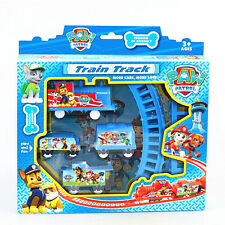 Cute TV Character PAW PATROL Figures Electric Train Track Kids Children Baby Toy