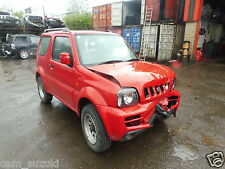 2008 SUZUKI JIMNY 1.3 PETROL IN RED BREAKING FOR N/S ELECTRIC DOOR MIRROR IN RED