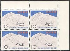 Japan 1965 Niseko Shakotan Otaru National Park/Mountains/Nature 4v blk (n28401)