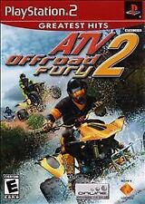 ATV OFFROAD FURY 2 Sony PlayStation 2 VIDEO GAME - Brand New - Rare Condition