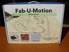 FAB-U-MOTION FABRIC MOVER by INSPIRA FREE-MOTION EMBROIDERY QUILTING NEW NIB