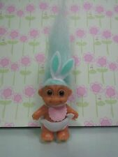 "EASTER STANDING BABY BUNNY - 2"" Russ Troll Doll - NEW IN ORIGINAL BAG"