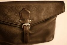 Black Vivienne Westwood genuine leather clutch bag