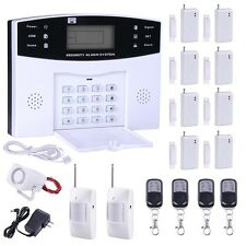 433MHz Wireless LCD PSTN Home House Security Alarm Burglar System Auto Dialer