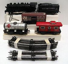 MARX Mechanical Steam Smoker Freight Set #372SM with powder bulb - RARE