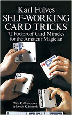 Self Working Card Tricks by Karl Fulves - Magic Book