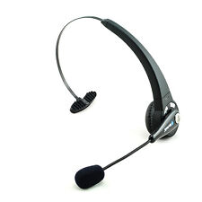 Wireless Bluetooth Headphones Over-Head Headset With Flexible Boom Mic New
