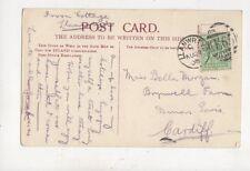 Miss Bella Morgan Brynwell Farm Dinas Powis 1905  980a