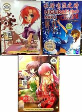 Higurashi When They Cry + No Naku Koroni (Kai + Rei + Kira) 1 -59End ~ 6DVD 3BOX