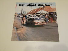 Man About Ska-Town LP 1988  MADE IN UK - VARIOUS ARTISTS SKA - REGGAE - KELP 04