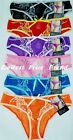 LOT OF 6 pcs PANTIES, SEXY LADY'S LACE MESH BIKINIS S,M,L,XL NEW #LB7234