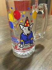 Spuds McKenzie Bud Light Beer Mug Vintage 80s Party Animal Rare