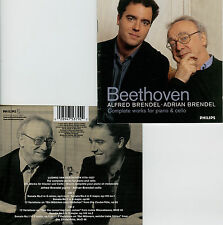 BEETHOVEN  complete works for piano & cello  BRENDEL