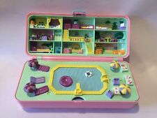 Polly Pocket PP Vintage Bluebird 1989 Large Hotel Apartment Swimming Pool Case