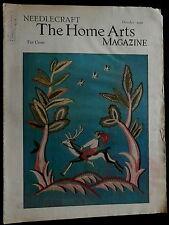 Needlecraft Home Arts Magazine October 1934 NEEDLEWORK FASHION CRAFTS PATTERNS