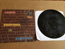 "LAURYN HILL - EVERYTHING IS EVERYTHING 12""  VINYL SINGLE  ETCHED SINGLE SIDED NM"