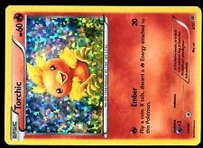 PROMO POKEMON MAC DO 2015 MCDONALD'S CARD HOLO N°  3/12 TORCHIC