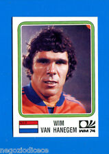 WORLD CUP STORY Panini - Figurina-Sticker n. 86 -V HANEGEM-OLANDA-MONACO 74-New