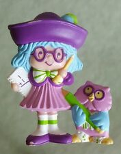 Vintage Strawberry Shortcake Mini Plum Pudding PVC Figure Rare Nice