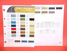 1974 CHRYSLER IMPERIAL PLYMOUTH BARRACUDA DODGE CHALLENGER CHARGER PAINT CHIPS