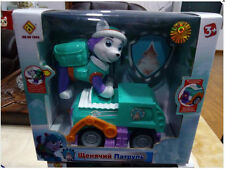1pc PAW PUPPY PATROL Vehicle Car with light and music Action Figure Toy--Everest