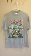 Iron Maiden Aces High Shirt 1984 Vintage Powerslave Tshirt 1980s Rare Metal 84 L