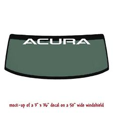 ACURA - Windshield Banner Decal Sticker v1