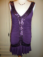 Tom Wolfe Sequin Party Dress Size UK 10