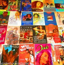 TRADE SIZE African American FICTION/URBAN Paperback Book Lot INSTANT COLLECTION
