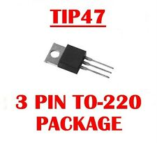 HARRIS TIP47 NPN HIGH VOLTAGE POWER TRANSISTOR TO-220 ( Qty 10 ) * NEW *