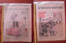 Rivista di satira italiana IL TRAVASO DELLE IDEE - 31 ottobre 1937 n. 44