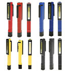 LED Inspection Hand Torch Rechargeable Work Light Lamp Magnetic Clip