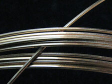 925 Solid Sterling Silver SQUARE Wire 24 Gauge 1 FOOT 100% RECYCLED Ethical USA