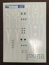 D.L Water Transfer Decal for MG 1/100 GN Sword IV - US SELLER