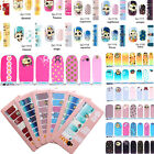 Beauty Adhesive Polish Nail Art Decals Foils Manicure Stickers Wraps Fashion #76