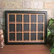 School Years with Name 15 Openings Preschool Graduation Picture Frame 11x14
