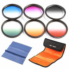 58mm Graduated Colour ND Lens Filter Kit Set for Canon EOS 700D 650D 600D 550D