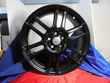 ALLOY WHEEL RIM BLACK SET of (4)17X7 SCION TC 06 07 08 09 10  2007 2008 132571-4