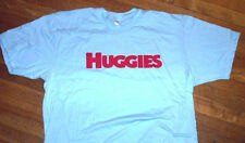 adult baby huggies diaper lover blue shirt abdl littles sissy age play mens XXL