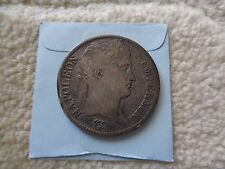 1811 France NAPOLEON 5 Francs large silver coin
