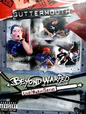 Guttermouth - Beyond Warped: Live Music Series DVD,NEW! LIVE CONCERT ,2004
