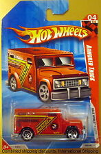 Hot Wheels 2010 184/240 Race World City Red Paramedic Rescue Armored Truck