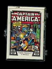 Comic Images 1990 Marvel Captain America 45 card Trading Card set New cards