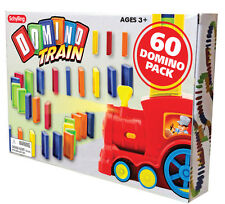 60 Domino REFILL Express Rally bulk Train track chain stack knock them down NEW