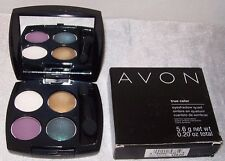 AVON! True Color Eyeshadow QUAD! FEMME FATALE. Fashionable Earthy Colors. NEW!
