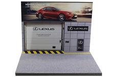Diorama présentoir garage Lexus - 1/43ème - #MR43A092
