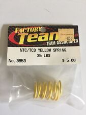 Team Associated NTC/TC3 Yellow Spring 35 LBS